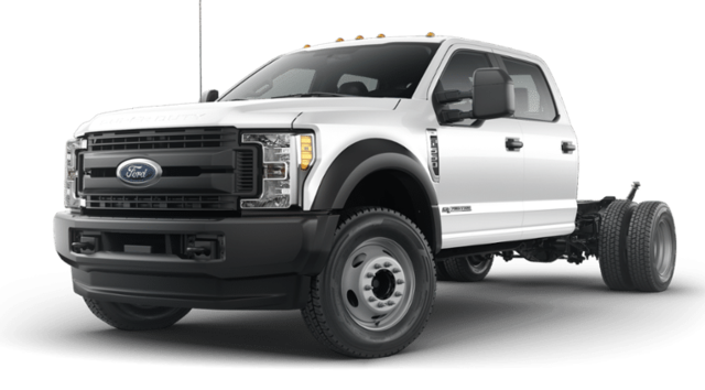 2019 Ford Super Duty F-550 DRW XL Crew Cab Chassis-Cab